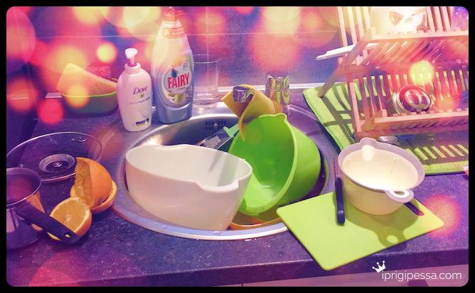 Όταν ο άντρας σου αποφασίζει να φτιάξει ένα μικρό σνακ στη κουζίνα...