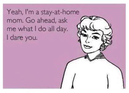 Είτε δουλεύει εκτός σπιτιού, είτε όχι, μια μαμά είναι ΠΑΝΤΑ σκληρά εργαζόμενη!